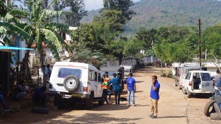 vehicles to take you closer to katika falls