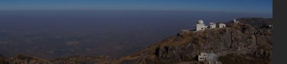 view from guru shikar