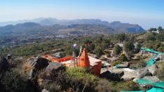 view from top of guru shikar