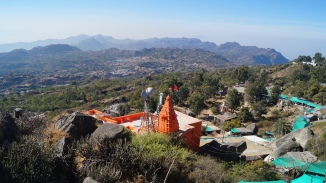 view from top of guru shikar