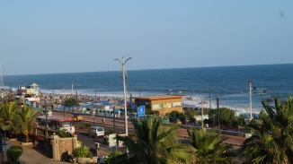 view of rk beach from novotel