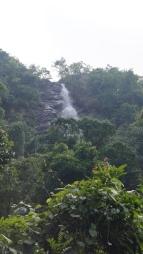 view of the top of katika waterfalls