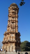 vijay stambh or victory tower at chittorgarh