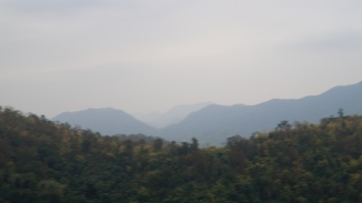 Ananthagiri Hills view from the road