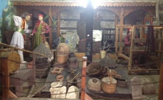 Exhibit at Naggar Castle