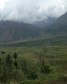 Himalayas in Naggar