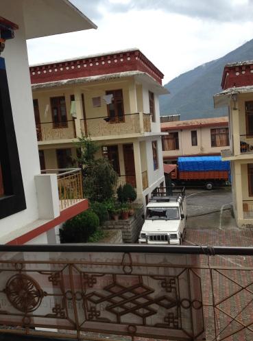 Living quarters at Dagpo Monastery