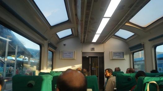Special Coach on train to Araku