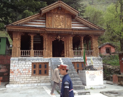 Temple in the Naggar Himalayas