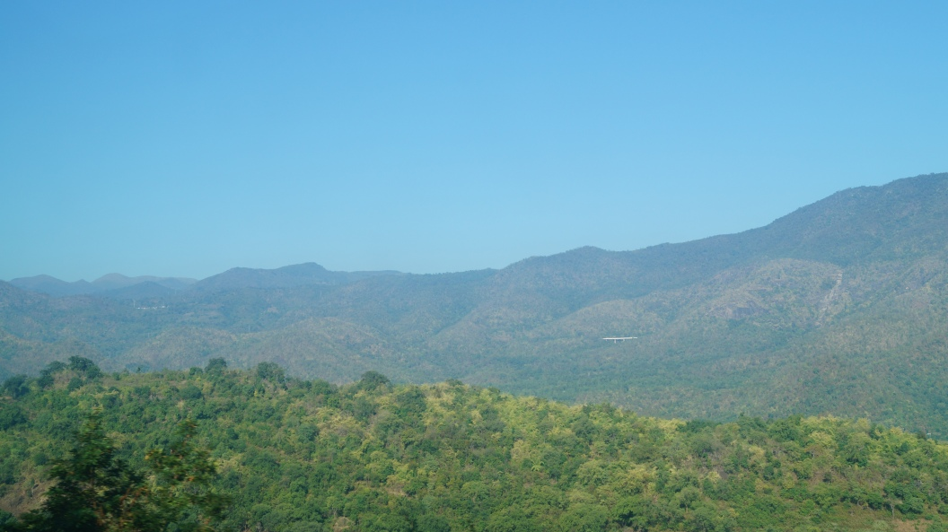 View near Shivalingapuram on the way to Araku