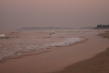 Sunrise at ganapatipule beach