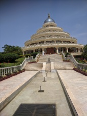 Vishalakshi Mantap Main Entrance AOL Ashram Bangalore
