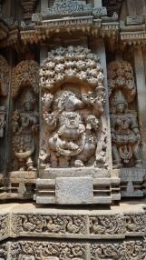 An avatar of Vishnu in stone at Somanathpur