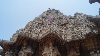 Another vertical view of Keshava temple at Somanathpur