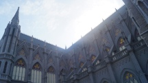 Another view of St Philomena Church in Mysore