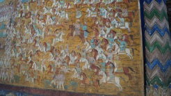 Battle scene summer palace srirangapatna
