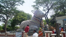 Big Nandi in Chamundi Hill