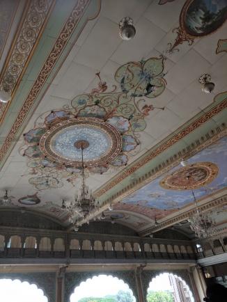 Ceiling Murals 1st floor Mysore Palace