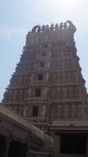 Chamundi Hill Temple Entrance from inside