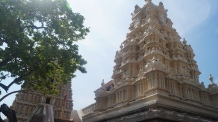 Chamundi Hill temple view from inside