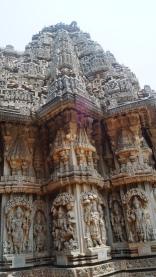 Charming sculptures at Somanathpur