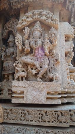 Dancing Lakshmi at Somanathpur