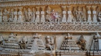 Different forms of Vishnu at Somanathpur