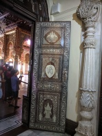 Door with ivory work Mysore Palace