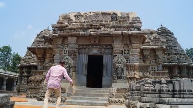 Entrance to Keshava Temple at Somanathpur