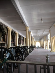 Entrance to Mysore Palace Visitor section
