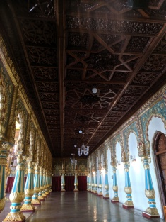 First floor hall another section Mysore Palace