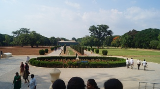 First view at Daria Daulat Bagh Srirangapatna