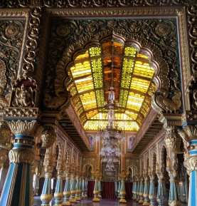 Hall on the 1st Floor Mysore Palace