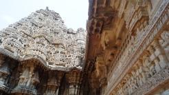 Keshava Temple at Somanathpur Vertical View
