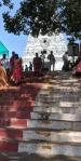 Last few steps leading up to the Annavaram Temple