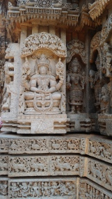 Meditating Vishnu at Somanathpur