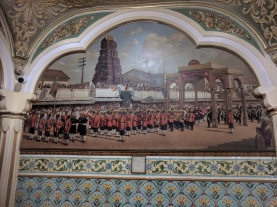 Mural at Mysore Palace