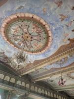 Mural closeup 1st Floor Mysore Palace