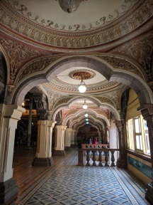 Ornate Hallways Mysore Palace