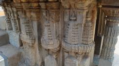 Outside carving at Keshava Temple at Somanathpur