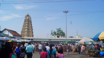 Path leading to Chamundi Temple