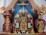 Pictorial depiction of the idols at Annavaram