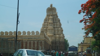 Side view of Srirangapatana temple