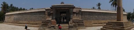 Somanathpur entrance panorama