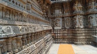 Somanathpur Temple Wall