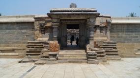 Somanthpur Temple Complex Entrance