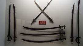 Sword collection Daria Daulat Bagh Srirangapatna