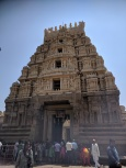 Temple front entrance at Srirangapatnam