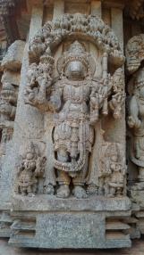 Varaha Avatar Statue at Somanathpur