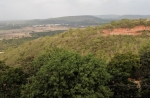 View from top of the hill at Annavaram